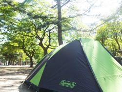 ソロキャンプ用テント 1人でも10分設営が可能