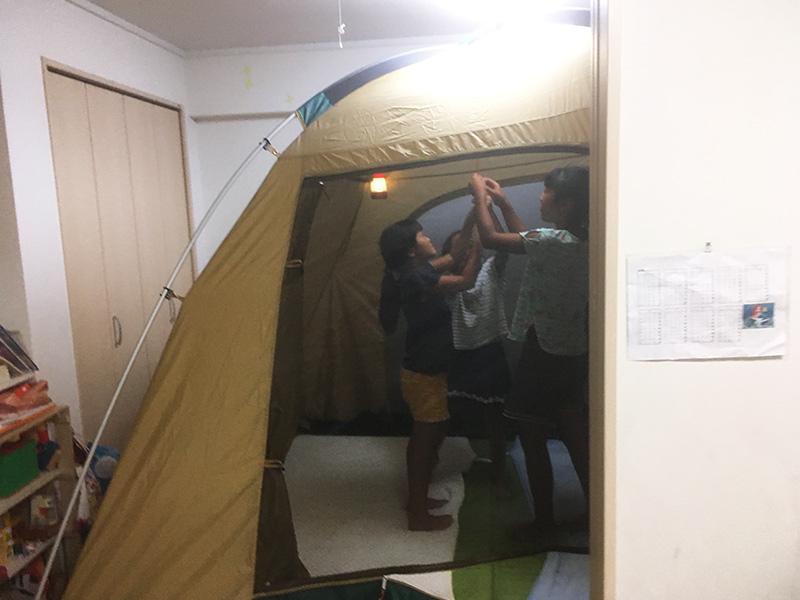 初めて買ったテントはコールマンタフドーム