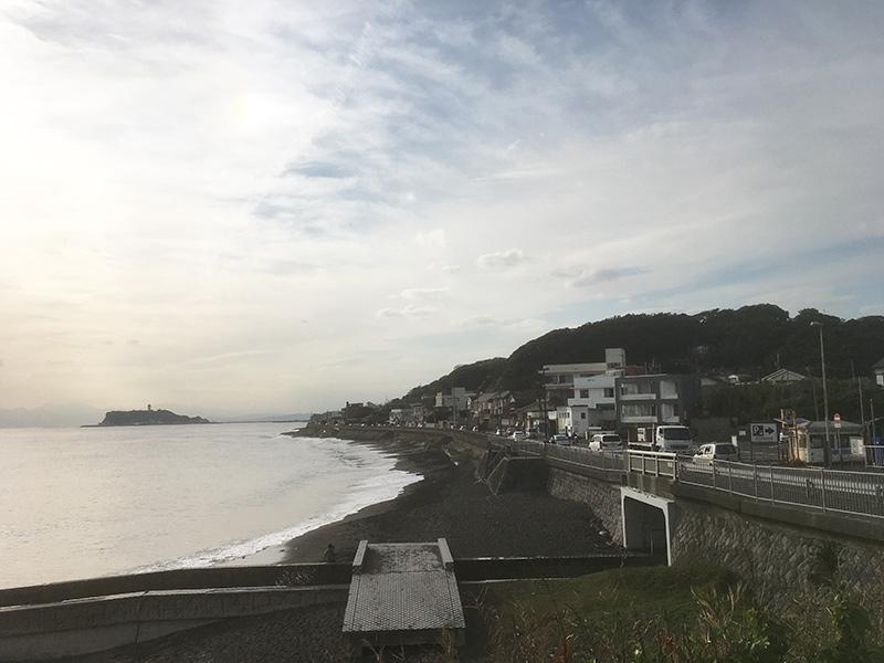 134号線と江ノ島