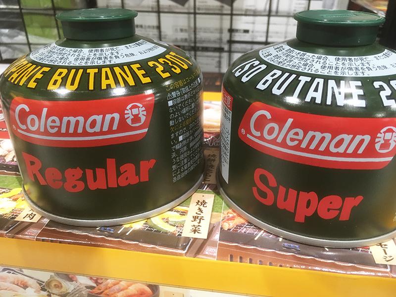 コールマン OD缶 RegularとSuperの違い