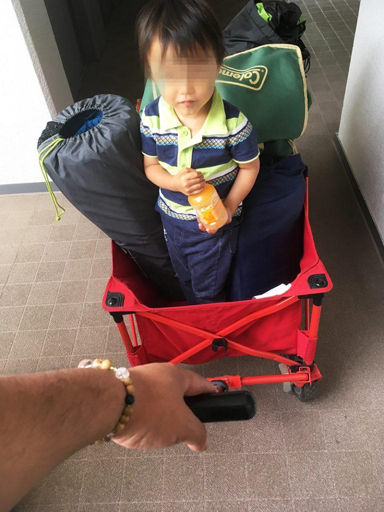 コールマン-アウトドアキャリー 荷物運びのメリットとデメリット