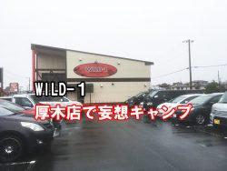 キャンプ用品購入 WILD-厚木店 営業時間