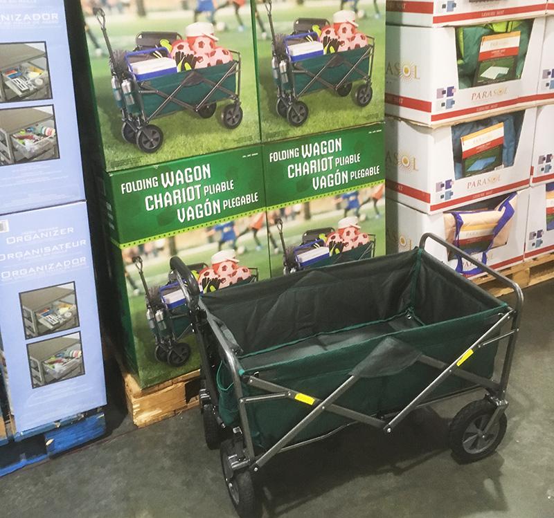 コストコキャンプ用品 ワゴンカート CHARIOT カート Pliable
