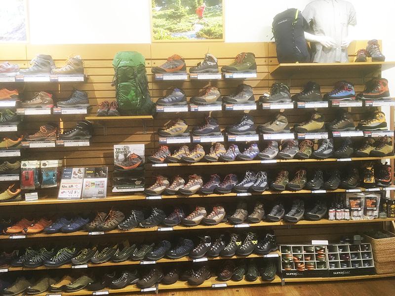 mont-bell モンベル 登山靴選び