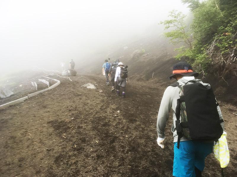 富士山 頂上までの道のり