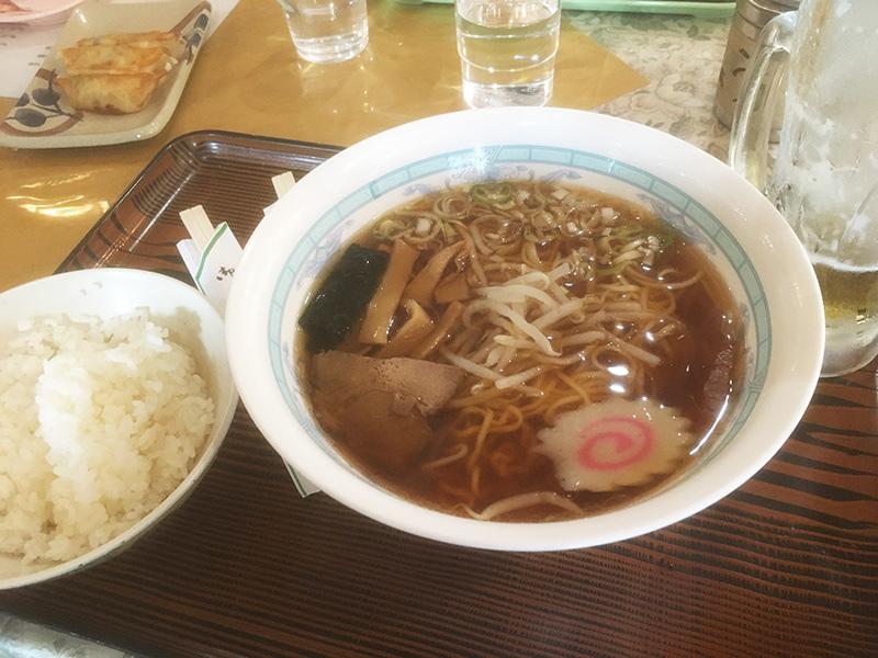吉田口五合目-ラーメン