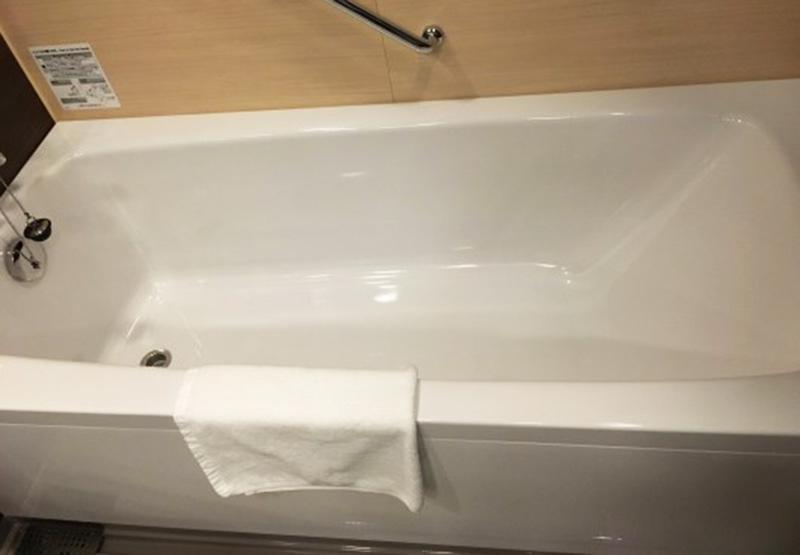 レゴランドホテルの浴槽