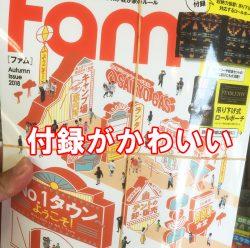 キャンプ雑誌 Fam 付録 かわいい