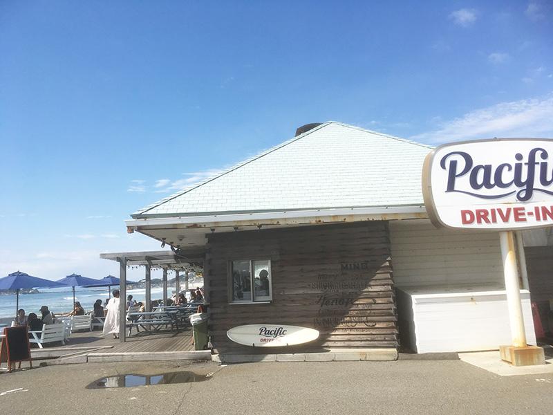 海を見ながらランチができるお店 湘南でおすすめのランチ パシフィックドライブイン