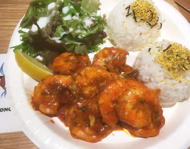 横浜 神奈川 ハワイのガーリックシュリンプが食べれる店