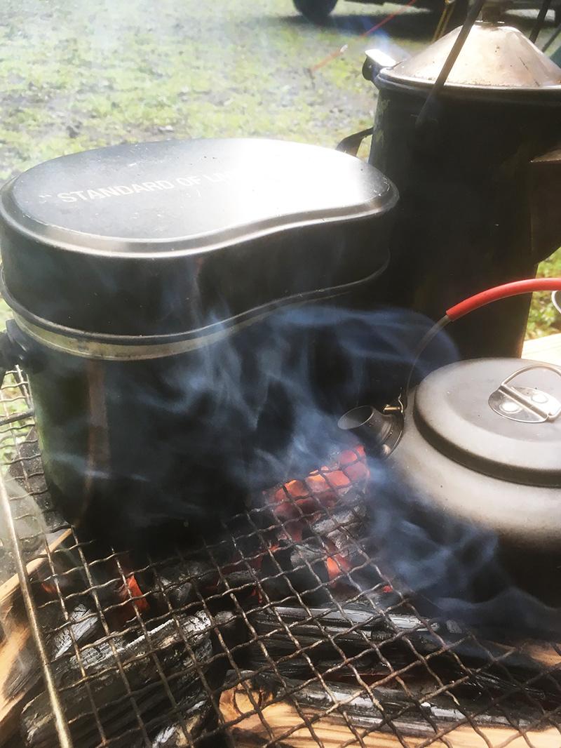 キャンプの朝食 朝ごはん何にしてる?