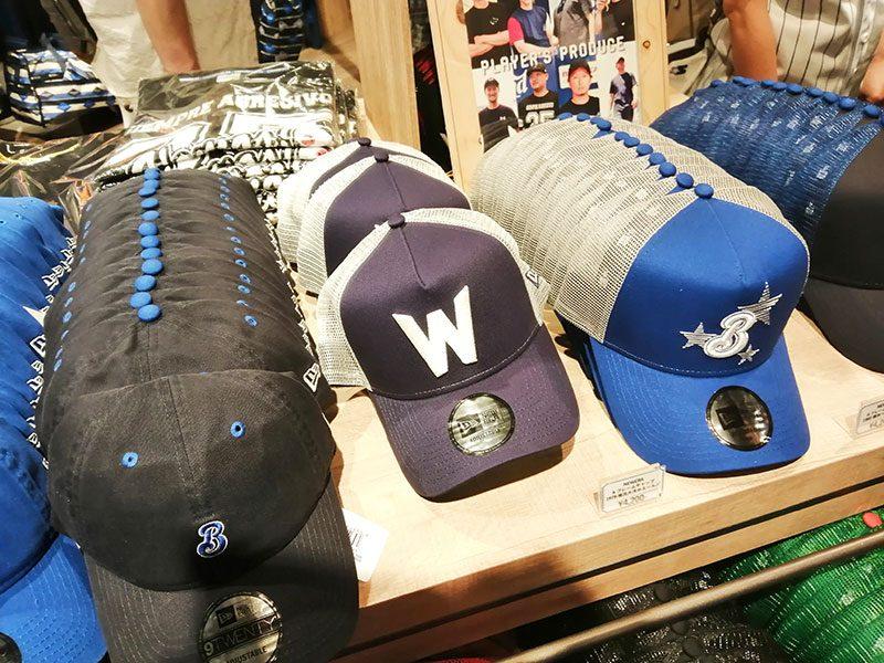 大洋フォエールズの帽子 Wの帽子