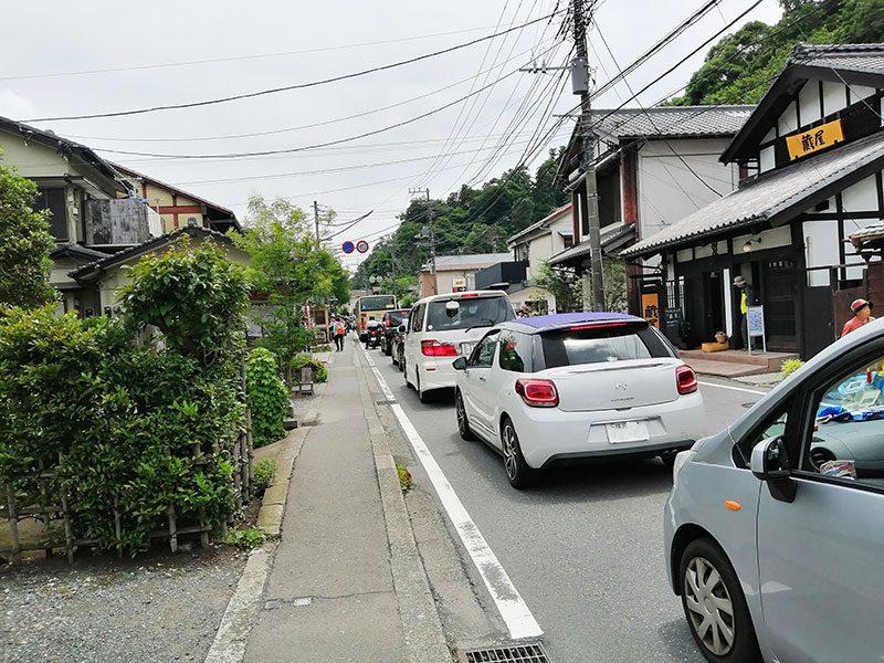 北鎌倉 名月院 混雑状況 渋滞は?