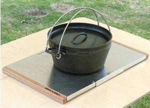 ユニフレーム 焚き火テーブル 使い方