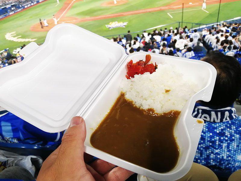 横浜スタジアム おすすめの食べ物 青星寮カレー