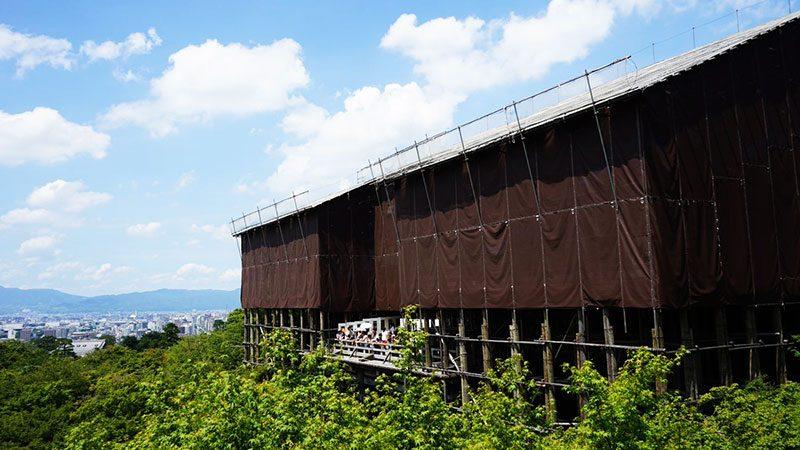 清水寺改修工事 50年に1度