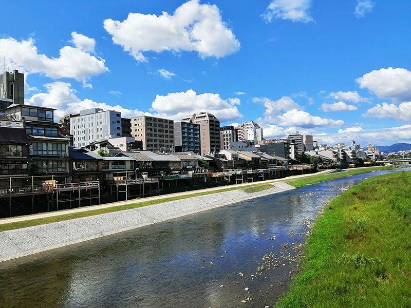 京都 自転車観光 鴨川