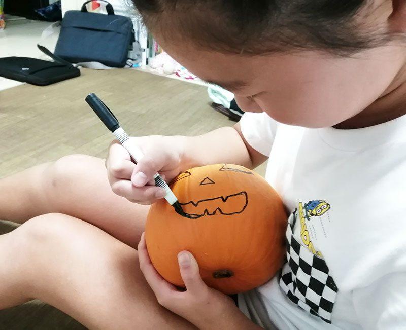 ハロウィン かぼちゃ 作り方