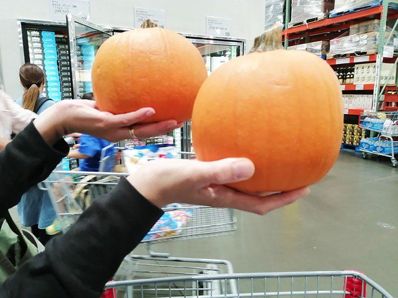 ハロウィン かぼちゃランタン用 コストコ