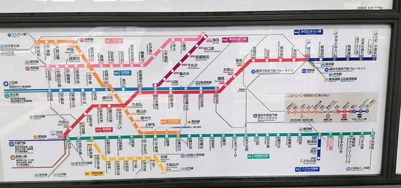 南町田グランパーク 電車 混雑してる?