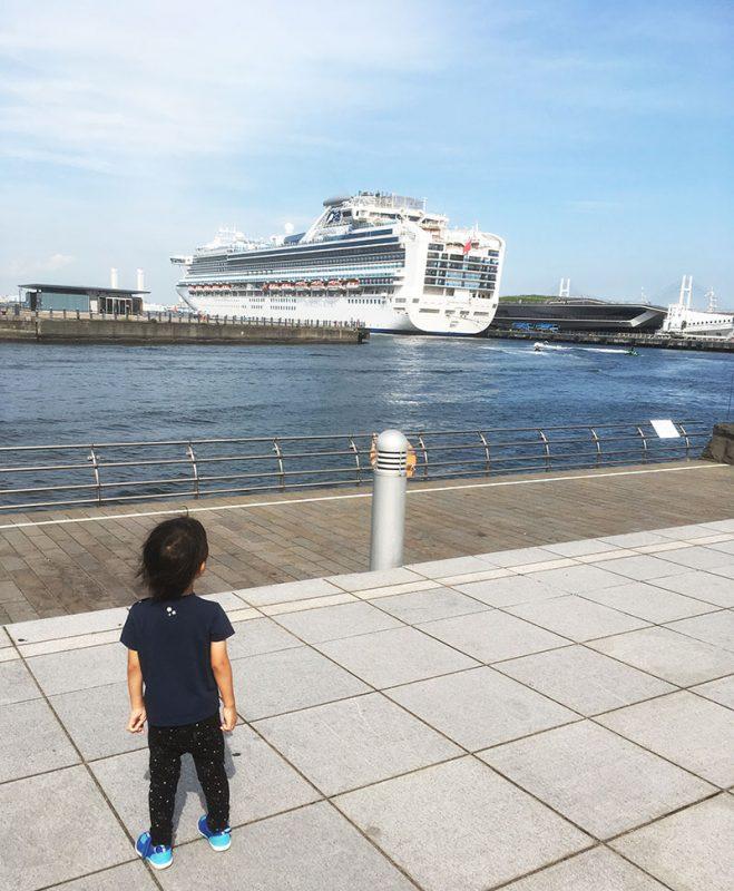 横浜港に停泊中 客船 最新状況