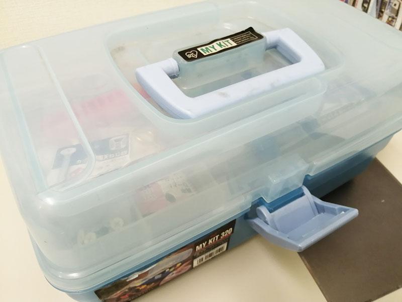 家庭用 プラスチック工具箱 壊れやすい