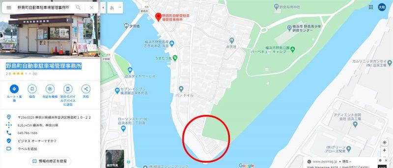 海の公園 野島公園 あさりが採れる場所はどこ?穴場