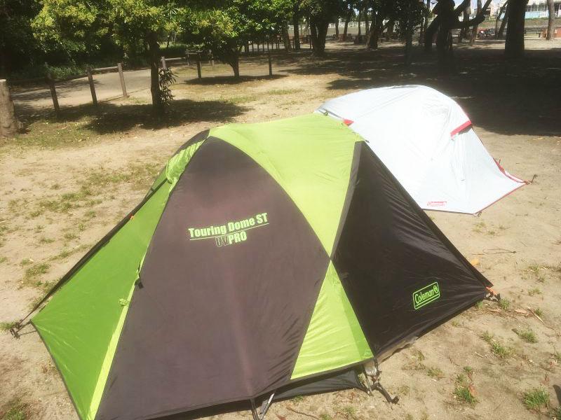 はじめて買うテント おすすめ コールマンツーリングドームST