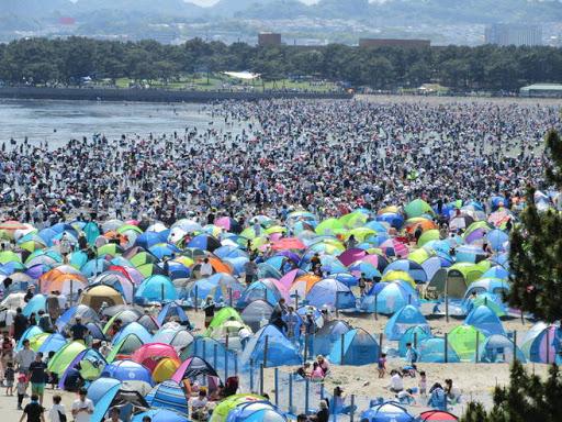 海の公園 2020年 ゴールデンウィークの混雑状況は?