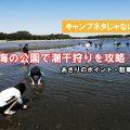 海の公園で 潮干狩り あさりはどれくらい採れる?