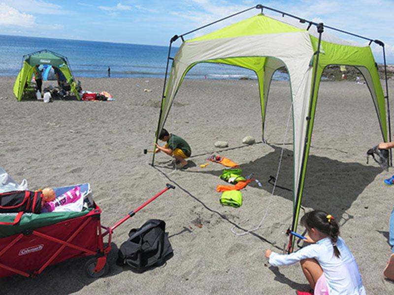 アウトドア 簡単な日陰を作るテントはどれ?