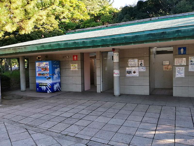 野島公園駅 釣り トイレはある?