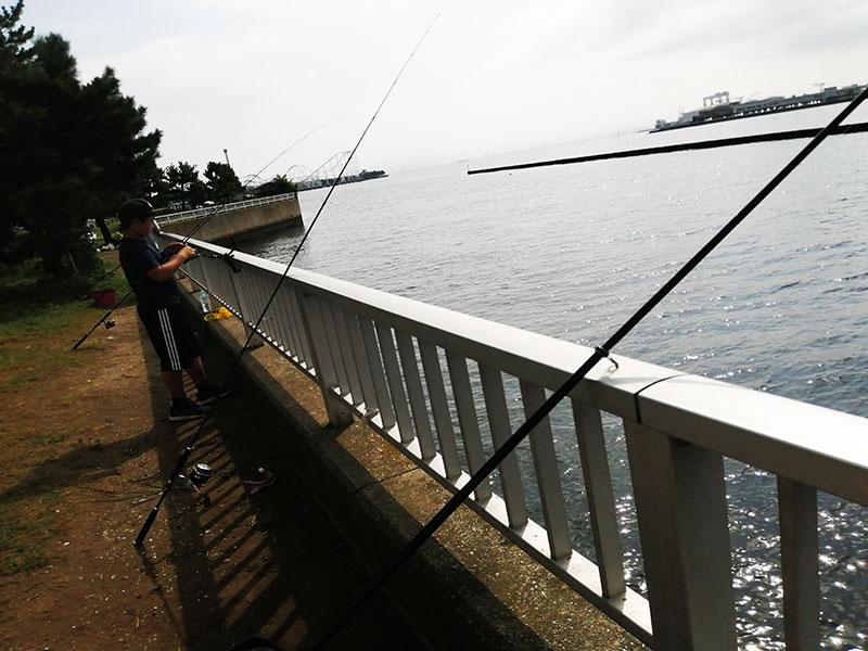 野島公園 釣り アジの釣れる場所は?