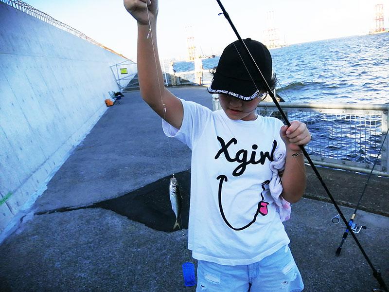 本牧海釣り公園 子供でも魚は釣れる?