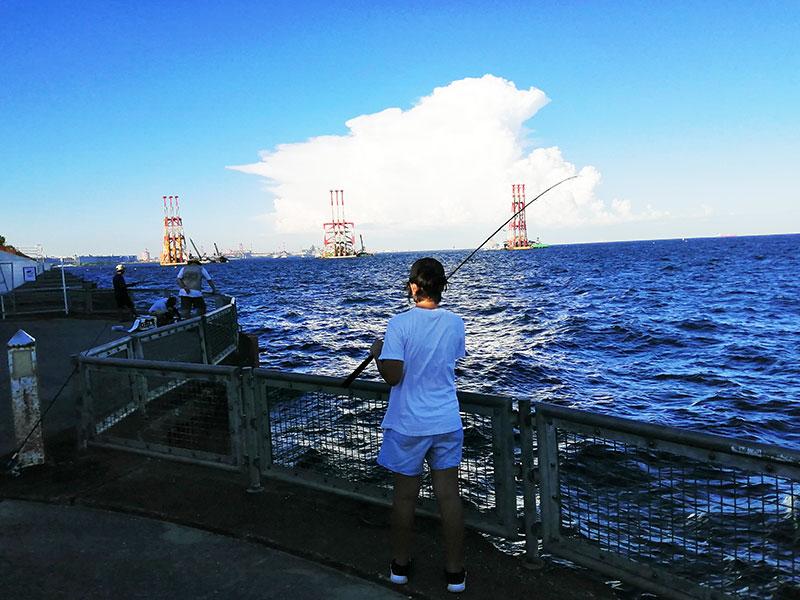 本牧海釣り施設 どの辺がよく釣れる?