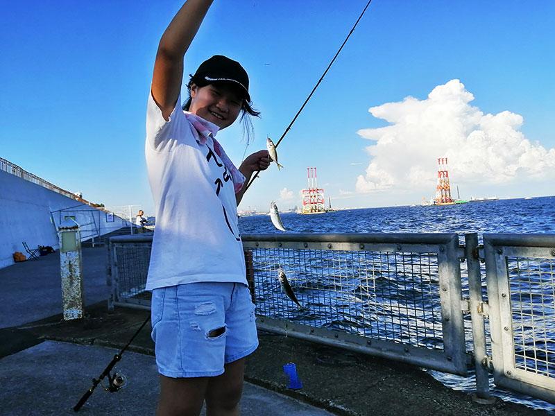 本牧海釣り施設 公園 2020年9月の釣果情報は?