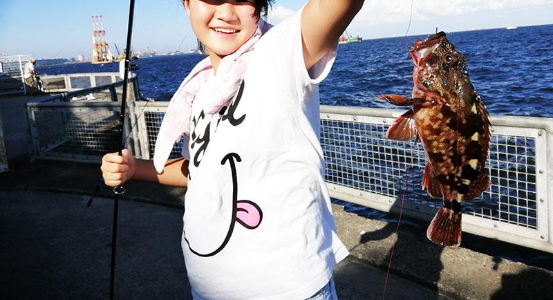 本牧海釣り施設 カサゴが釣れる場所 ポイントはどこ?