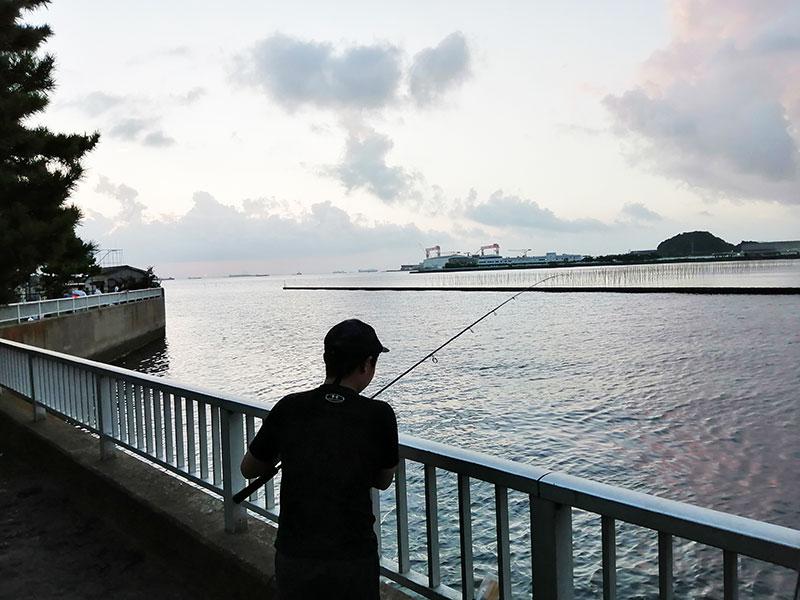 横浜 金沢八景 野島公園 アジが釣れる場所はどこ?