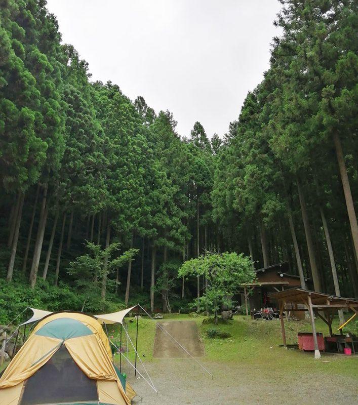嵐の大野君がキャンプをした場所は?