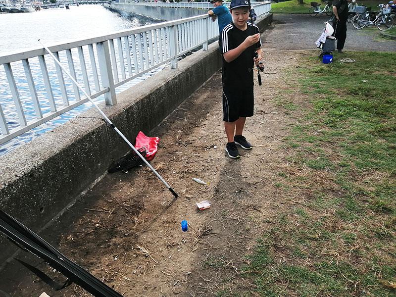 子供とはじめての海釣り さびき釣りは釣れる?