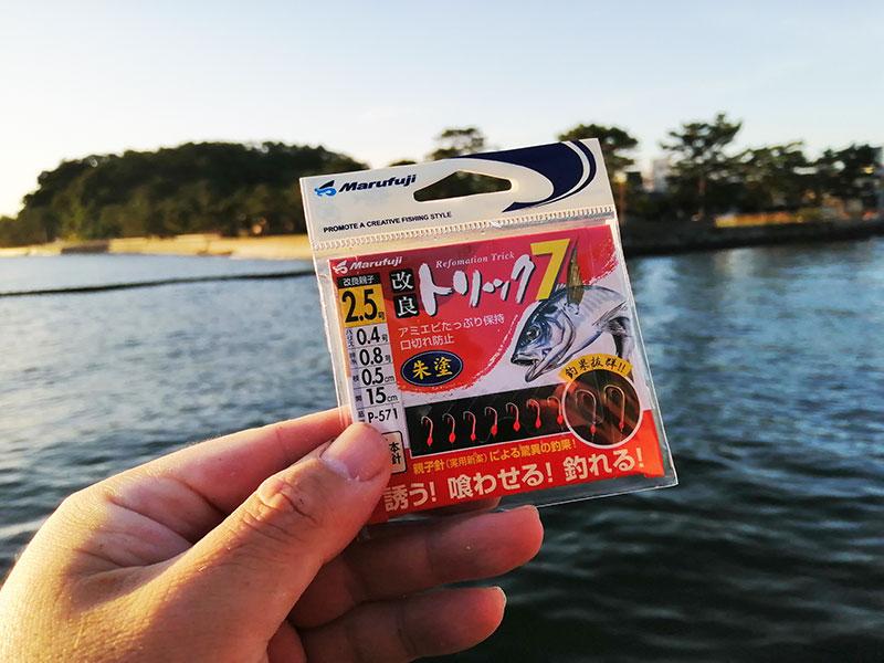 横浜 アジのサビキ釣り 釣れる仕掛けは?