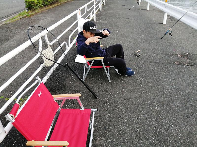 海釣り 子供でも安心して座れるチェアは?