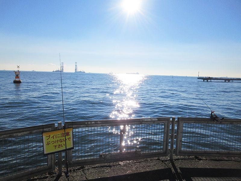 本牧海釣り施設 新護岸 釣れるポイントは?