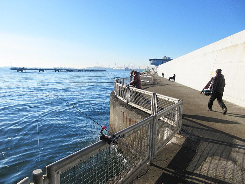 緊急事態宣言 釣り 本牧海釣り施設