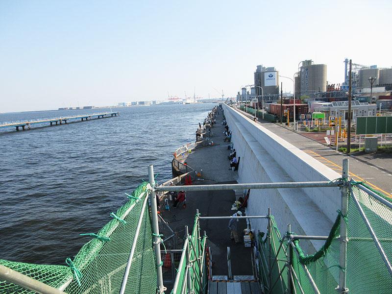 本牧海釣り施設 桟橋の復旧はいつ頃?