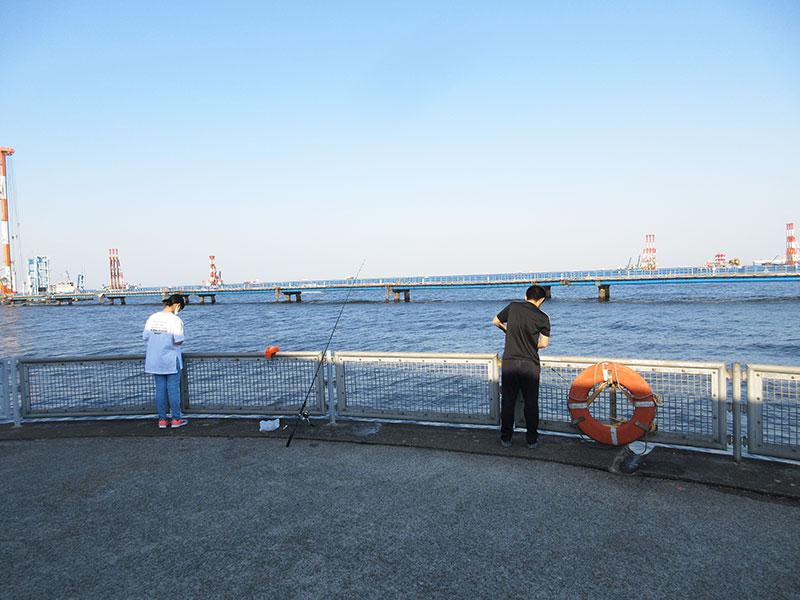 4月の本牧海釣り施設 何が釣れるの?