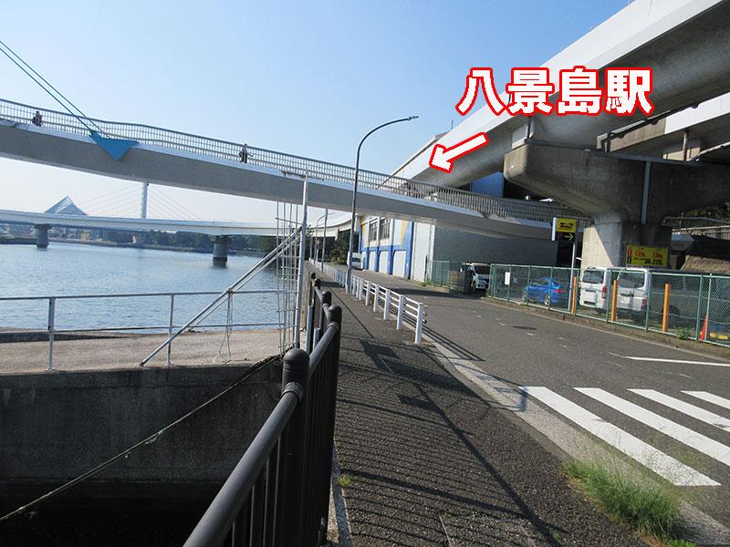 八景島駅 アジは釣れる?